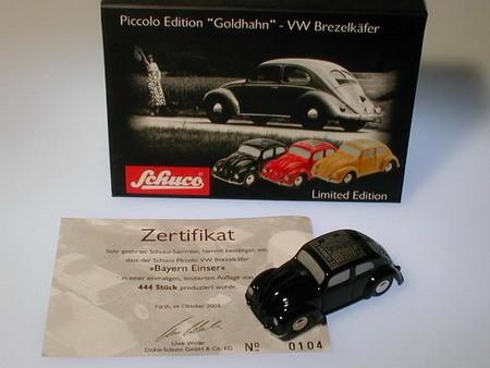 """VW Brezelkäfer """"Bayern Einser"""""""