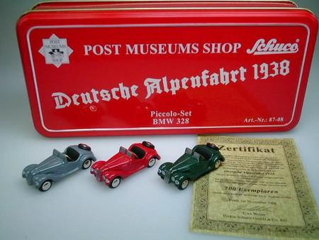 """Set Post Museum """"Deutsche Alpenfahrt 1938"""""""