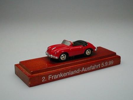 Porsche 356 A, 2. Frankenlandausfahrt