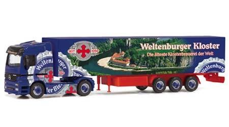 """Mercedes Benz Actros """"Klosterbrauerei Weltenburg"""""""