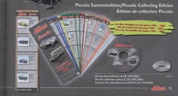 Piccolo Sammelfächer + CD 1995-2005